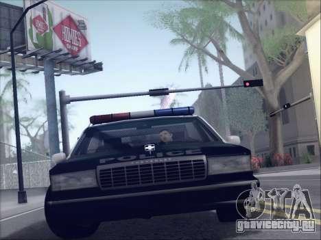 New Police LSPD для GTA San Andreas вид слева