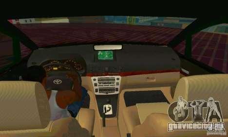Toyota Innova Lowrider Rims 2 для GTA San Andreas вид изнутри