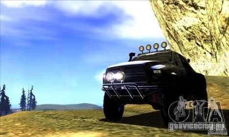 Dodge Ram All Terrain Carryer для GTA San Andreas