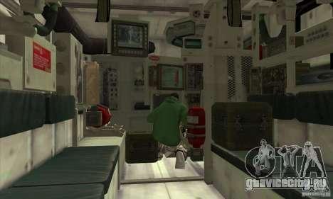 Stryker для GTA San Andreas вид сбоку