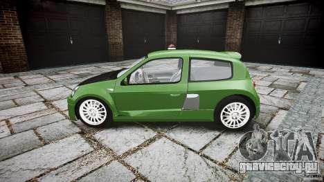 Renault Clio V6 для GTA 4 вид слева