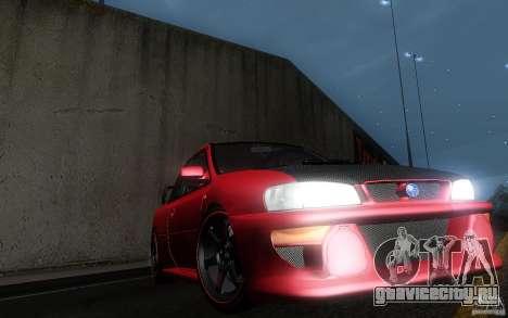 Subaru Impreza 22B для GTA San Andreas вид сбоку
