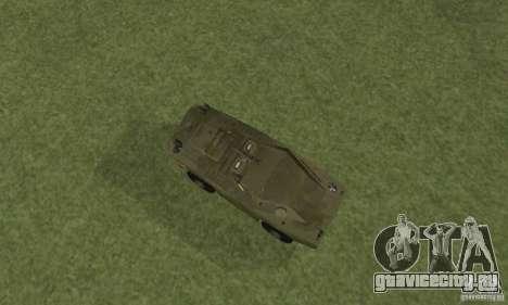 БРДМ-1 Скин 4 для GTA San Andreas вид сзади