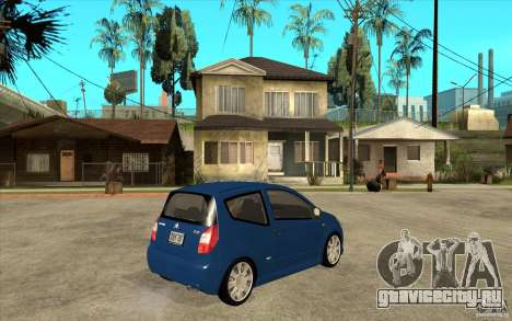 Citroen C2 - Stock для GTA San Andreas вид справа
