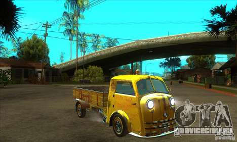Tempo Matador 1952 Bus Barn version 1.1 для GTA San Andreas