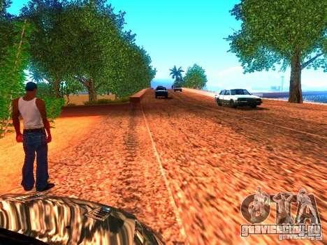 Нормальные водилы на трассе для GTA San Andreas второй скриншот