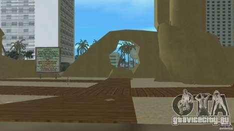 Vice City Beach-Park для GTA Vice City третий скриншот