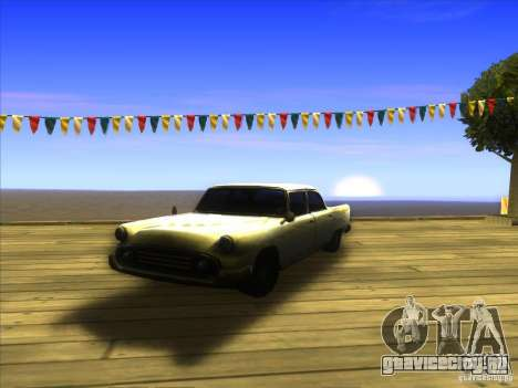 Glendale - Oceanic для GTA San Andreas вид изнутри