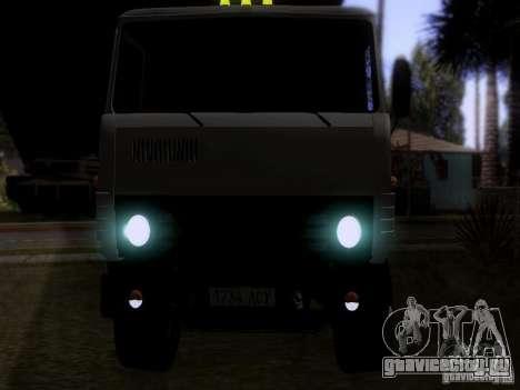 КамАЗ 53212 Молоковоз для GTA San Andreas вид сзади