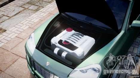 Porsche Cayenne Turbo S 2009 Tuning для GTA 4 вид изнутри