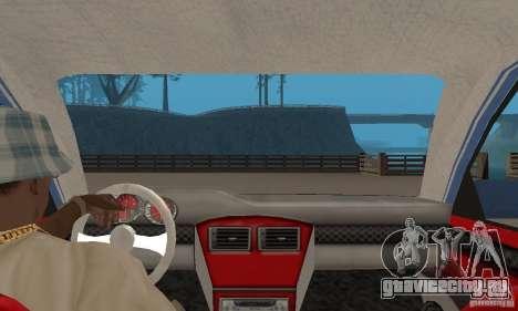 Toyota Carina 1996 для GTA San Andreas вид сзади