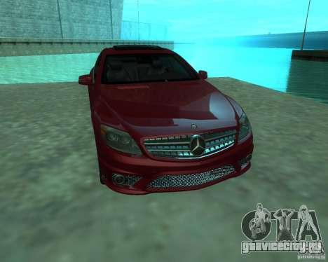 Mercedes-Benz CL65 AMG для GTA San Andreas вид сзади слева