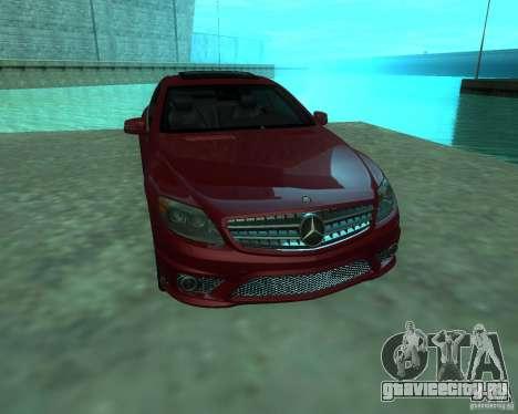 Mercedes-Benz CL65 AMG для GTA San Andreas вид сзади слева