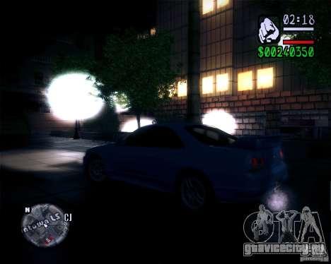Новая графика в игре 2011 для GTA San Andreas