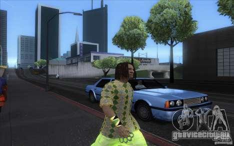 Rasta ped для GTA San Andreas четвёртый скриншот