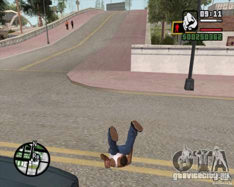 GTA 4 Anims for SAMP v2.0 для GTA San Andreas восьмой скриншот