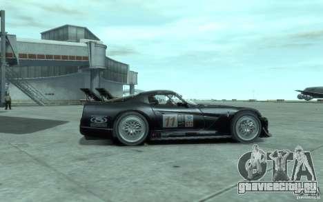 Dodge Viper Competition Coupe для GTA 4 вид сзади слева