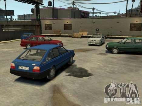 FSO Polonez Каро для GTA 4 вид снизу