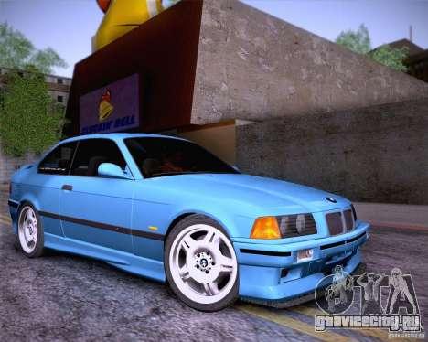 BMW M3 E36 1995 для GTA San Andreas вид сверху