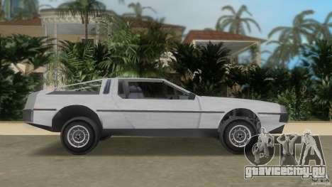 DeLorean для GTA Vice City вид слева