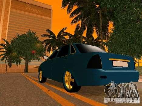 ВАЗ 2170 Приора Gold Edition для GTA San Andreas двигатель