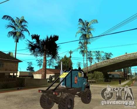 ЗИЛ 4421 РАЛЛИ для GTA San Andreas вид сзади слева