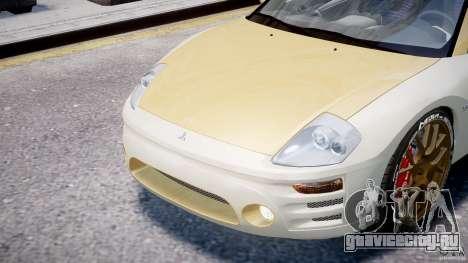 Mitsubishi Eclipse GTS Coupe для GTA 4 вид сбоку