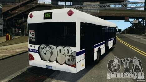 Solaris Urbino 12 MTA для GTA 4 вид сзади слева