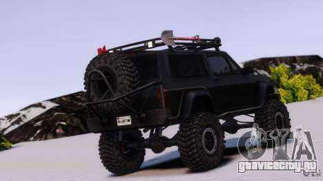 Jeep Cheeroke SE v1.1 для GTA 4 вид слева