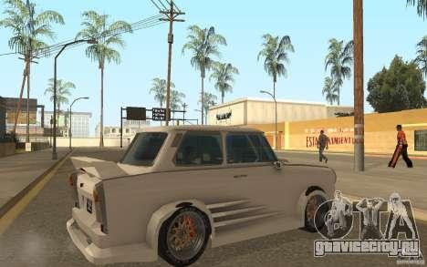 Trabant 601S Tuning для GTA San Andreas вид справа