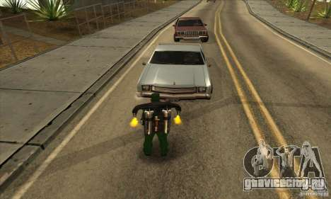 Стрельба с обреза с Jetpack для GTA San Andreas второй скриншот