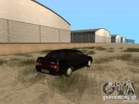 Ваз 2115 Light Tun V.1.1 для GTA San Andreas