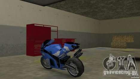 Yamaha YZF R1 для GTA Vice City вид сзади слева