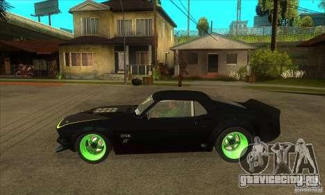 Ford Mustang RTR-X 1969 для GTA San Andreas вид справа