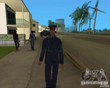 Русский мент для GTA Vice City третий скриншот