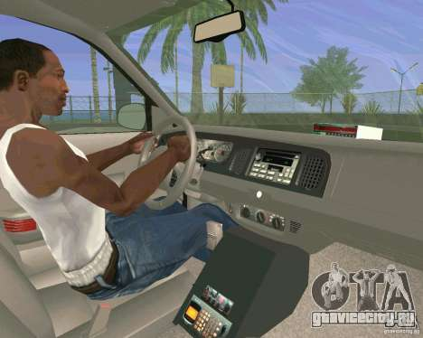 Ford Crown Victoria 2003 Taxi Cab для GTA San Andreas вид сбоку