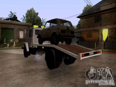 ГАЗ 3309 Эвакуатор для GTA San Andreas вид справа