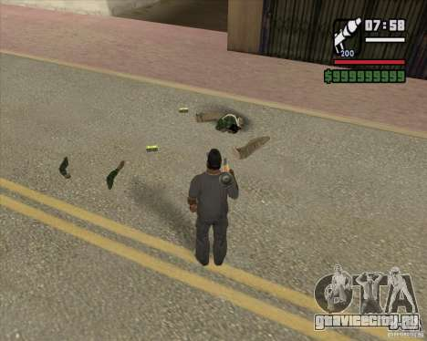 Real Ragdoll Mod Update 2011.09.15 для GTA San Andreas третий скриншот