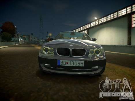 BMW 120i для GTA 4 вид слева