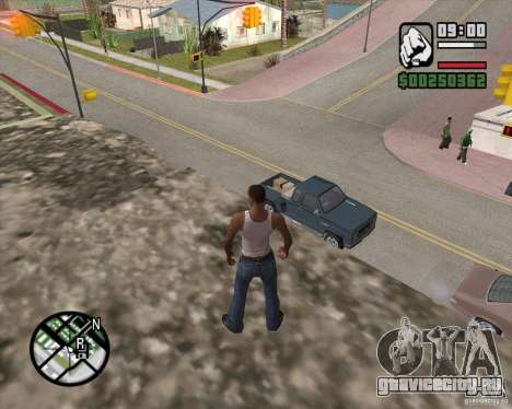 GTA 4 Anims for SAMP v2.0 для GTA San Andreas седьмой скриншот