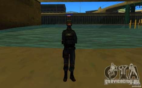 HQ skin S.W.A.T для GTA San Andreas третий скриншот