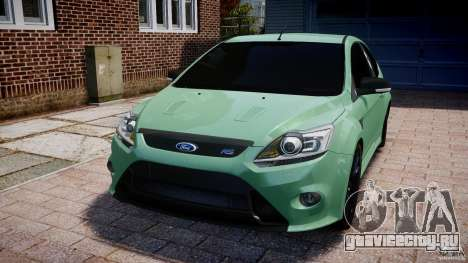 Ford Focus RS для GTA 4