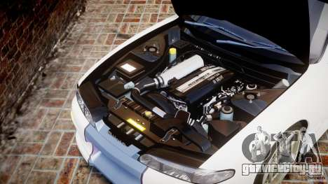 Nissan Silvia S14 [EPM] для GTA 4 вид изнутри
