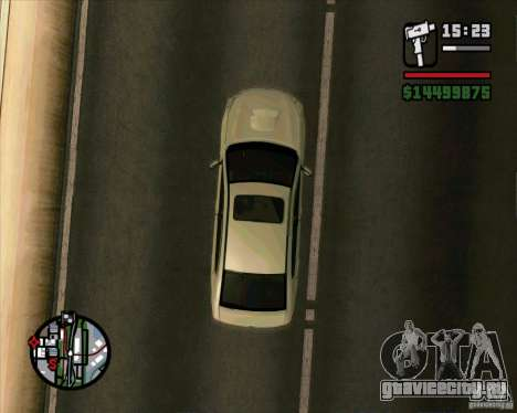 Subaru Legacy 2010 v.2 для GTA San Andreas вид справа