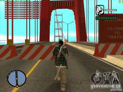 Такомский Мост (Tacoma Narrows Bridge) для GTA San Andreas второй скриншот