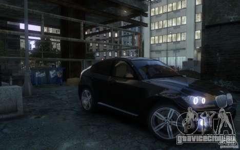 BMW X6 для GTA 4 вид справа