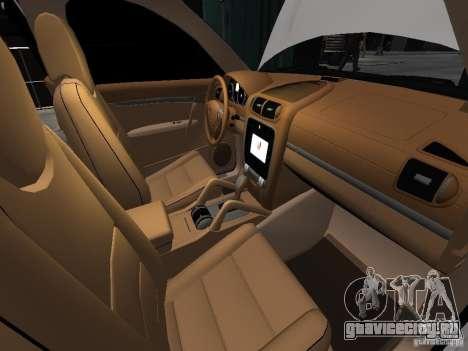 Porsche Cayenne Turbo 2003 v.2.0 для GTA 4 вид снизу