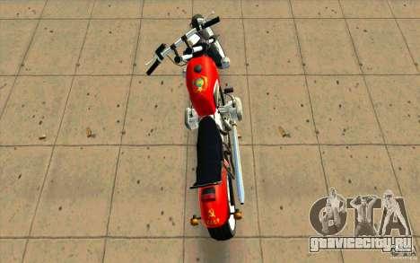 Днепр Зверь v2 Ольга для GTA San Andreas вид снизу