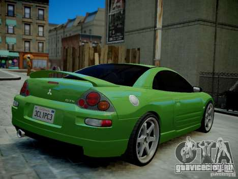 Mitsubishi Eclipse GT-S v1.0 для GTA 4 вид справа