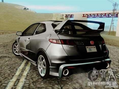 Honda Civic TypeR Mugen 2010 для GTA San Andreas вид слева